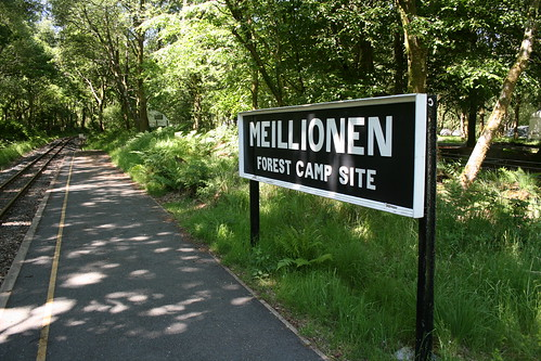 Meillionen camp site halt