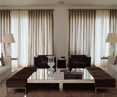 cortinas para sala fotos
