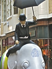 London Elephant Hunter (anthonyfalla) Tags: charity elephant london art design artwork decoration london parade elephant asian elephant
