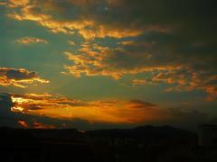 (aLejandro portfolio) Tags: city sunset summer españa sun mountain tower church landscape atardecer town spain europa europe iglesia ciudad paisaje verano antenna málaga antenas soleado montaas