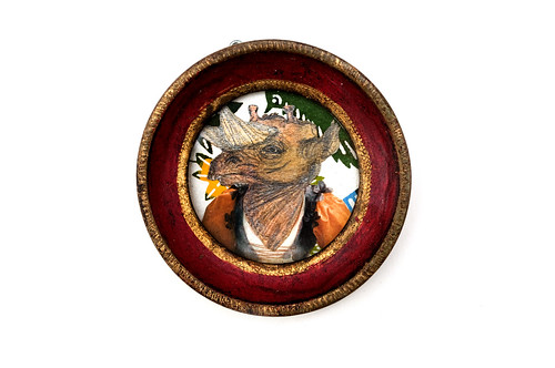 dinosaur portrait