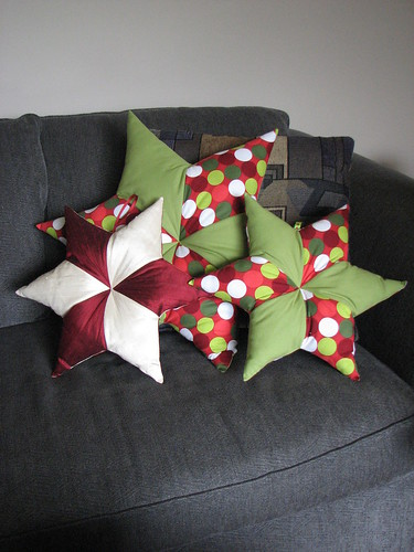 Christmas Star Pillows