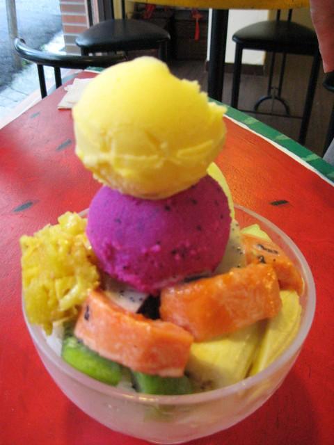 フルーツかき氷, 百果園
