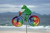 Ein Radfahrer @ Copacabana