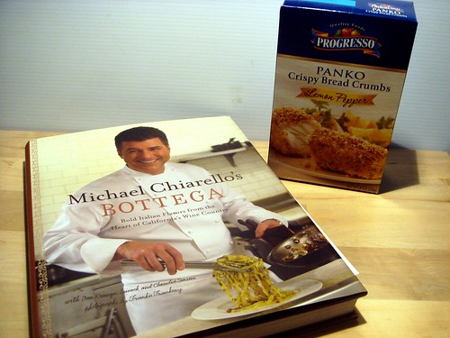 Progresso Panko and Bottega cookbook giveaway + Turkey Polpettone and Radicchio Salad