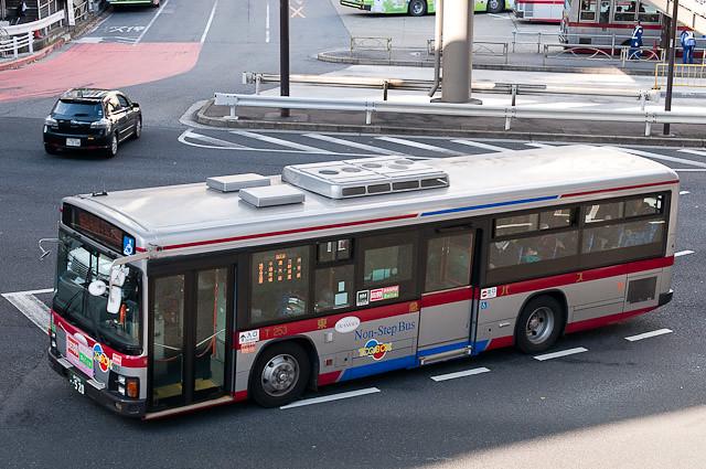 東急バス弦巻営業所 T253 TOQ-BOX