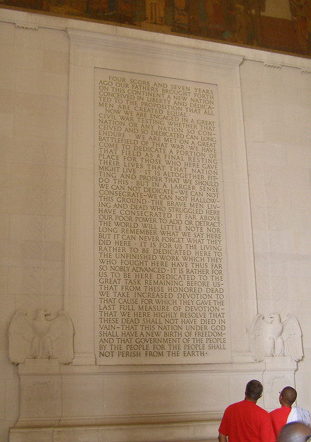 Gettysburg Address at LM