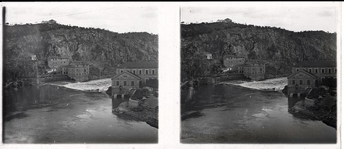 Turbinas de Vargas en los años 20. Fotografía de Ángel del Campo Cerdán