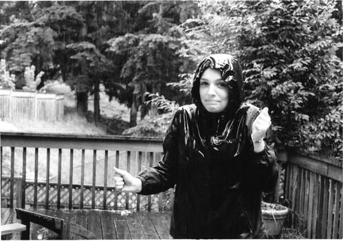Abby in the Rain