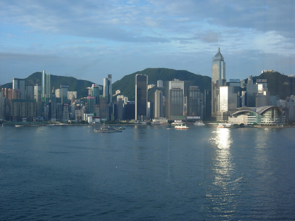 Hong Kong harbor view #1
