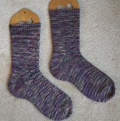 Pagoda Lace Socks 062807