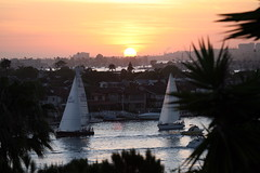 Sunset Over Corona Del Mar