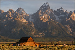 Photographing Photographers ([Christine]) Tags: mountains barn sunrise photographers wyoming grandtetonnationalpark blueribbonwinner mormonrow abigfave anawesomeshot diamondclassphotographer flickrdiamond
