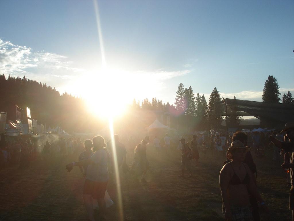 sunshine in the main field
