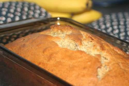 Banana Nut Bread: In loaf pan