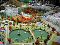 toy train village