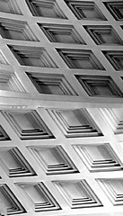 Confusion (James Rye) Tags: uk white abstract black james mirror hall noir norfolk olympus ceiling rye confusion bianco blanc nero holkham e500 jamesrye