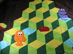 Q*bert close-up