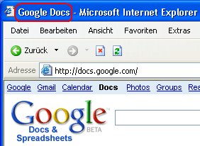 Google Docs (&Spreadsheets)