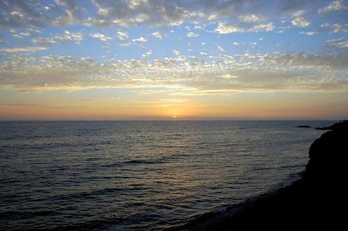 sunset - pacific beach