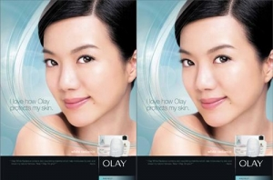Rui En in Olay White Radiance Ad