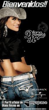 diana reyes myspace