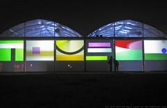 documenta 12 | Gerwald Rockenschaub / ohne Titel | 2001/2007 | Aue-Pavillon at night