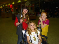 The Maddie's in a wheelchair
