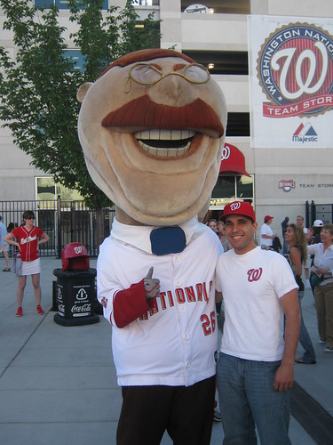 Me and Teddy at Nationals Park