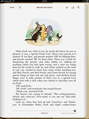 Broken metaphor on the last page of Winnie-the-pooh