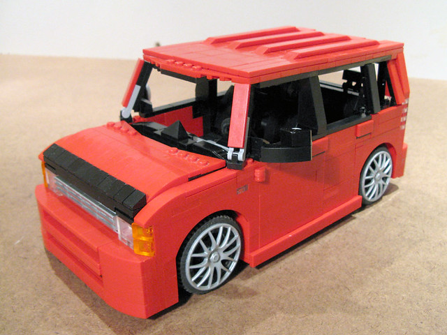 auto car lego scion xb moc