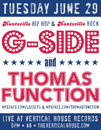 June 29: G-SIDE & THOMAS FUNCTION