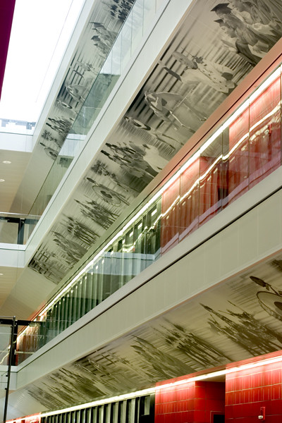 Lindner Center, University of Cincinnati by Hunter Douglas Contract