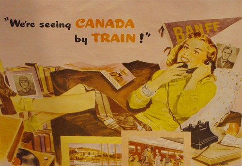 We're seeing CANADA by TRAIN!