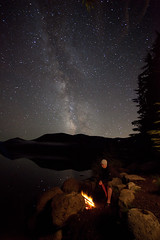 (Ben Canales) Tags: camping camp night way stars fire star twilight ben campfire galaxy backpacking wilderness universe milky starry milkyway canales