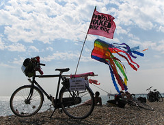 The end of the ride (nagumbe) Tags: naked nude cycling brighton protest nudity wnbr