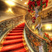 The Red Stairway (HDR) [Explored] by Nik-On!