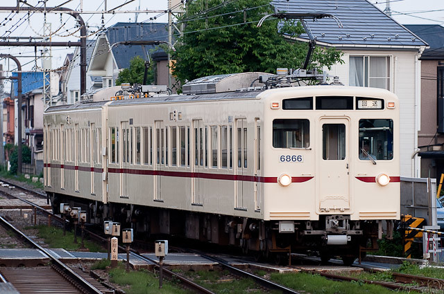 京王電鉄6000系 6416F 錆取回送