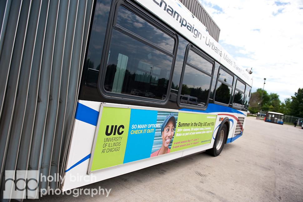 Bus advertisement photos