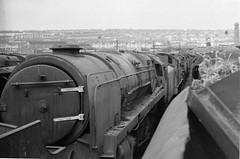 Barry Island Wales 13th October 1968 (loose_grip_99) Tags: railroad wales train railway steam barry scrapyard 1968 9f uksteam woodhams gassteam 92245