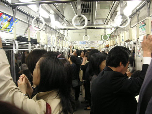 Rush Hour on the Tokyo Subway | Konica Minolta DiMAGE X50