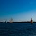 Sail boats gallore on the Baltic Sea
