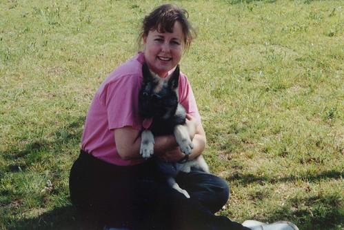 Heidi and I Spring 1990