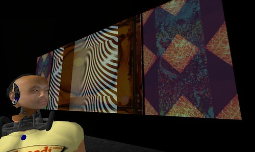 "Brian Eno installation ""77 million paintings"" in SL"