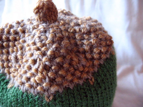 acorn hat top detail
