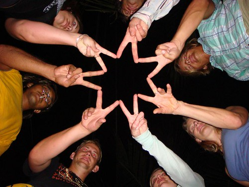 """The Tioman Gang"" making a star..."