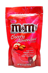 Cherry Almondine M&Ms