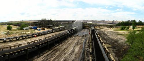 Tagebau Garzweiler open-cast coal mine near Gustorf, Germany