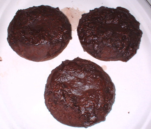 chocolate frosted chocolate donuts, low-carb and healthy