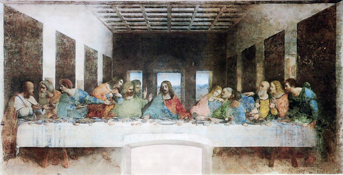 The Last Supper Flipped